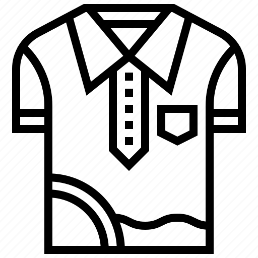 golf, outdoor, shirt, sport, uniform icon
