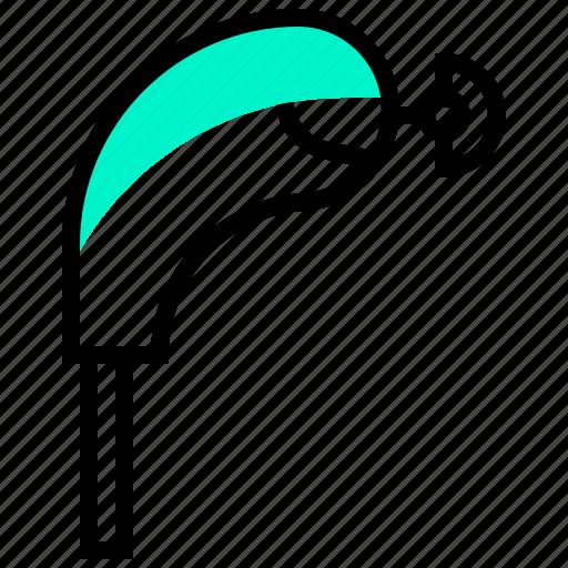club, cover, golf, head, sport icon