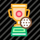 ball, champion, cup, golf, sport, trophy