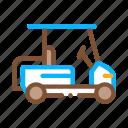 caddy, car, cart, club, golf, golfer, recreation