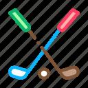 club, game, golf, play, putter, sport