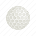 ball, circle, golf, golfing, isometric, leisure, round icon