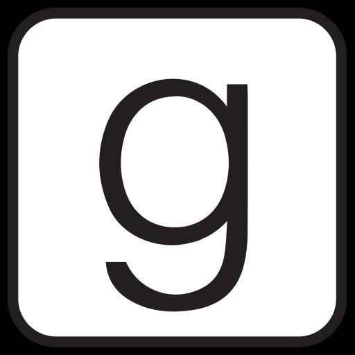 books, ebooks, g, goodreads, liner, social media, square icon