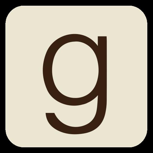 books, ebooks, g, goodreads, read, social media, square icon