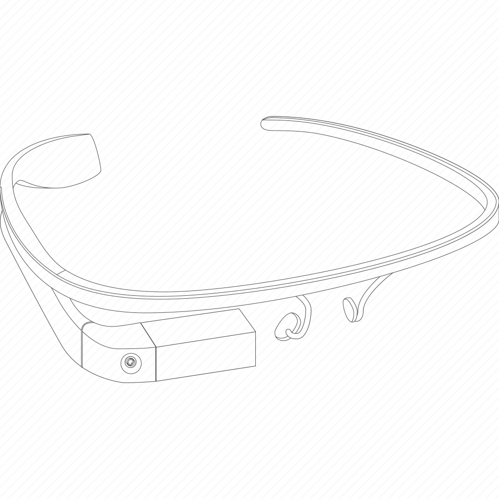 construction, device, gadget, gglass, glass, glasses, google, google glasses, google project, googleglasses, gproject, project, structure icon