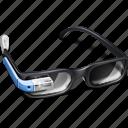 gproject, google, gglass, project, shadow, with, glasses, gadget, googleglass, google glass