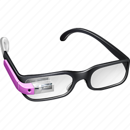 gglass, glasses, google, google glass, google project, googleglass, gproject, pink, project icon