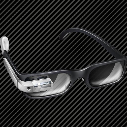 buzz, explore, gadget, gglass, glasses, google, google glasses, google+, googleglasses, gproject, plus, project, silver, view, watch icon