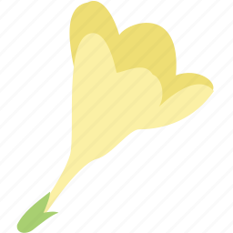 decoration, floral, flower, freesia, nature icon