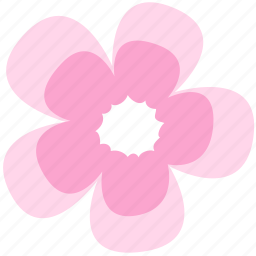 decoration, floral, flower, geranium, nature icon
