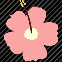 decoration, floral, flower, hibiscus, nature, plant icon