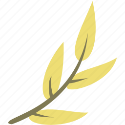 branch, green, leaf, leaves, nature icon