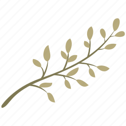 branch, decoration, green, leaf, leaves, nature icon