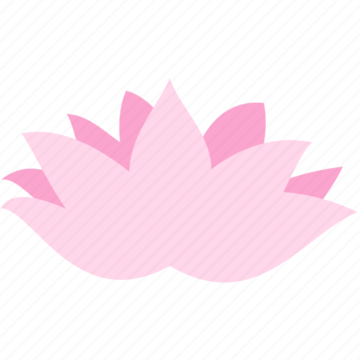 decoration, floral, flower, lotus, nature, relax icon