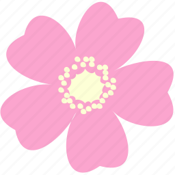 decoration, floral, flower, nature, rose, wild icon