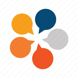briefing, conference, congress, crossfire, debate, discussion, forum, international, meeting, multicultural, multiculture, multilanguage, review, simultaneously, together icon