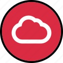 cloud, data, save, straming, stream icon