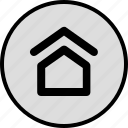 gohome, home, homecoming, house icon