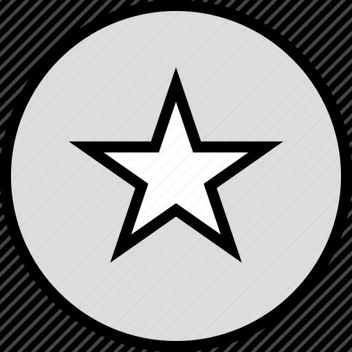 google, locate, location, star icon