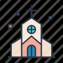 church, cross, dollar, religion, road, sign