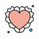 crafted, heart, marriage, medical, sign, wedding icon