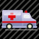 ambulance, emergency, hospital, vehicle