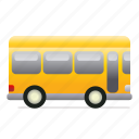 bus, school, schoolbus, transportation, vehicle, yellowbus icon