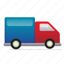 courier, delivery, lorry, product, transportation, vehicle