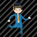graduation, graduation ceremony, student, university icon