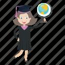 graduation, student, university