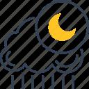 cloud, grape, rain, sun icon