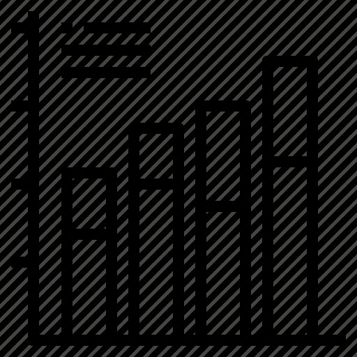bar, chart, graph, stat, statistic icon