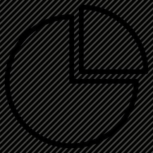 chart, circle, graph, stat, statistic icon