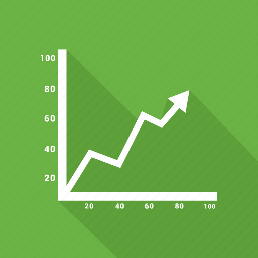 Chart, diagram, graphic, growth, line icon - Download on Iconfinder