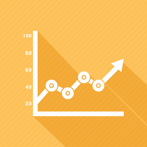 curve, graphic, growth, rate icon
