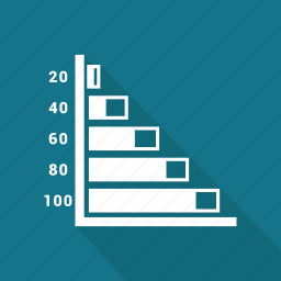 chart, financial, graphic, growth, information icon