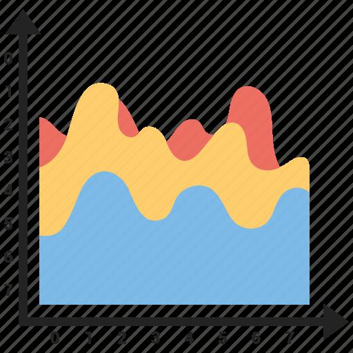 data, graph, infographic, report icon