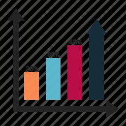 bar, ecommerce, graph, increase icon