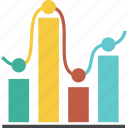 analytics, chart, circle, computer, diagram, finance, graph, sales, statistic, statistics icon