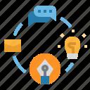 design, flowchart, graphic, vector, workflow icon