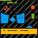 design, studio, imac, table, art, computer, laptop