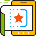 design, image, interface, screen, star, tablet, ui icon
