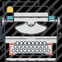 copy, keyboard, text, typewriter, writer, writing