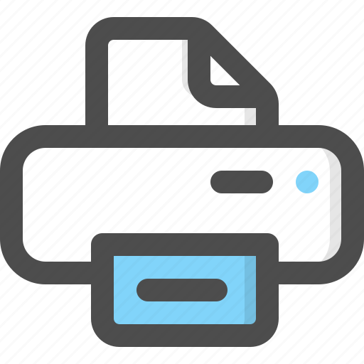 Electronics, ink, paper, print, printer, printing, technology icon - Download on Iconfinder