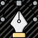 vector, pen tool, illustration, path