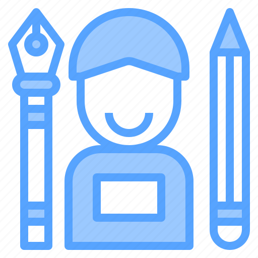 computer, creativity, designer, graphic, office, professional, technology icon