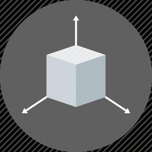 creative, cube, design, geometry, graphic, shape, tridimensional icon