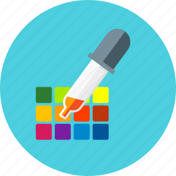 color, design, equipment, graphic, paint, pick, tool icon