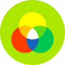art, color, creative, design, graphic, paint, wheel icon