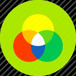 art, color, creative, design, graphic, paint, wheel icon